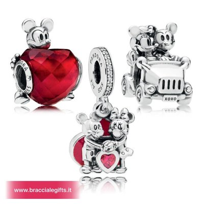 Catalogo Pandora 2020 Disney Mickey Pacchetto Charm Amore E Minnie