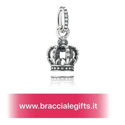 Catalogo Pandora 2020 Fiaba Charms Noble Splendore Corona Penzolare Charm
