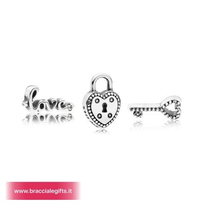 Catalogo Pandora 2020 Key To My Heart Petite Charm Pack