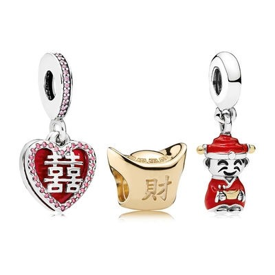 Catalogo Pandora 2020 Happiness Fortune And Luck Charm Pack